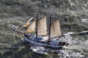 Overtocht van Amsterdam naar Edinburgh - Flying Dutchman